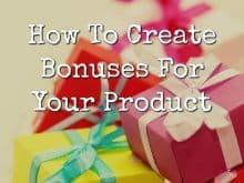 how to create bonuses free featured image