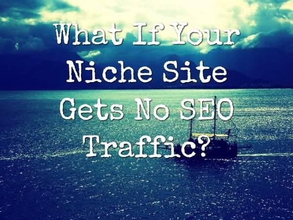 niche site no seo traffic featured image